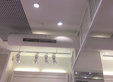 Установка кассетного кондиционера цена москва схема наружного блока кондиционера general climate